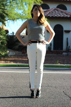 Forever 21 top - Forever 21 pants - PacSun heels