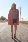 Minkpink-coat-nordstrom-sweater-topshop-skirt
