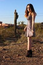 Forever 21 boots - Nordstrom dress
