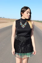 Nordstrom necklace - MinkPink skirt