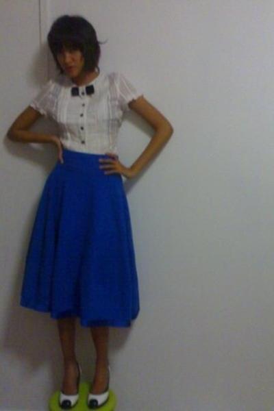 blouse - skirt