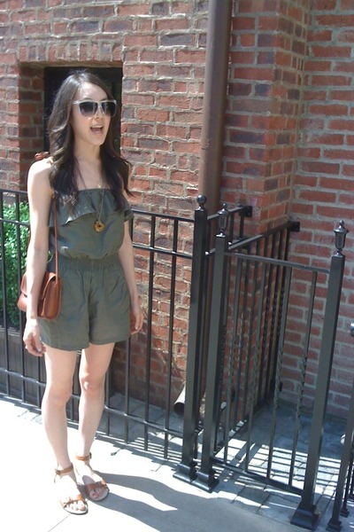 forever 21 sunglasses - forever 21 shorts - coach purse - Urban Outfitters shoes