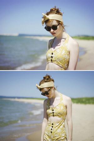 cotton Esther swimwear - bow headband Esther accessories