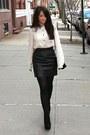 Black-chanel-bag-black-topshop-wedges-black-american-apparel-skirt