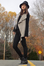 Vince Camuto hat - rag & bone jeans - rag & bone sweater - ASH sneakers