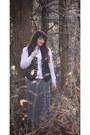 Shoedazzle-boots-kohls-skirt-vintage-vest-vintage-blouse
