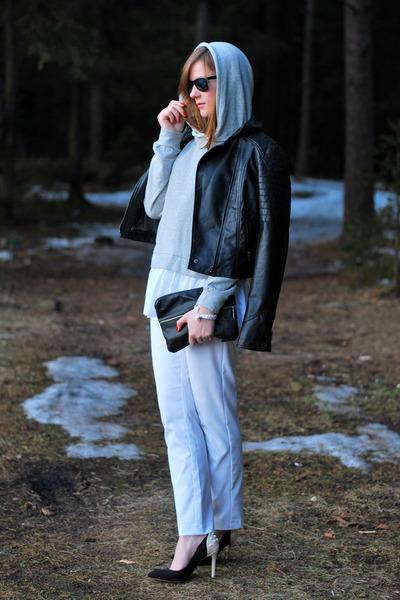nowIStyle jumper - next jacket - next heels
