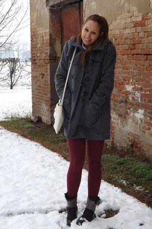 montgomery Mango coat - tezenis leggings - Zara bag