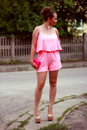 pink PresKA romper