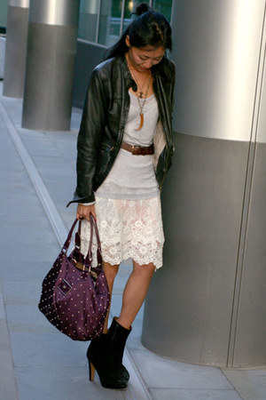 Ema Savahl skirt - russell & bromley boots - Massimo Dutti jacket