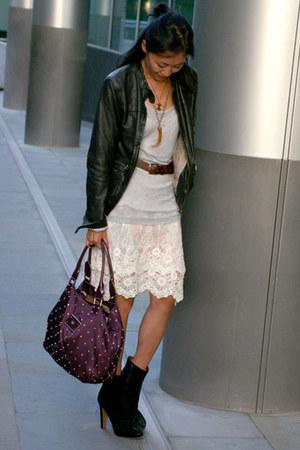 Ema Savahl skirt - russell & bromley boots - Massimo Dutti jacket