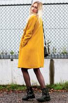 Zara cardigan - vanharen boots - Miss Selfridge shirt - Sheinside bag