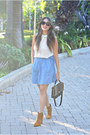 Lucky-brand-boots-jcrew-bag-house-of-harlow-sunglasses-madewell-skirt