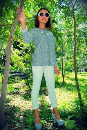 denim jeans Guess jeans - cotton Zara sweater