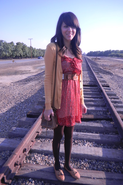 dress - Steve Madden shoes - Roxy purse