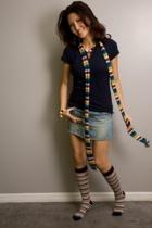Target shirt - Abercrombie skirt