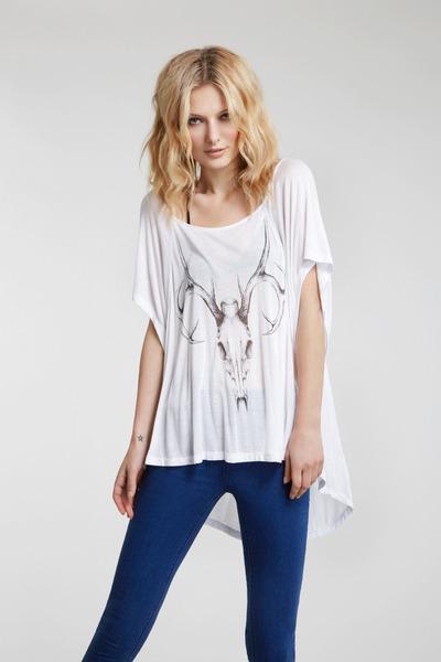 oversized rayon stylestalker t-shirt