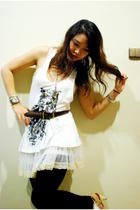 oz local top - local brand skirt - China shoes