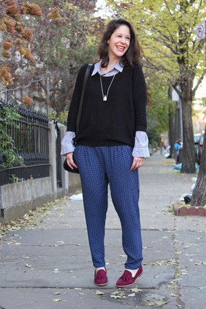 Forever 21 sweater - Forever 21 pants - Target loafers
