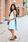 Forever-21-wedges-bazaar-dress-terranova-jacket-rags2riches-bag