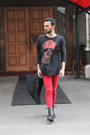 Black-leather-h-m-boots-red-denim-zara-jeans-black-zara-t-shirt