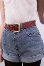 Brick-red-suede-fair-season-belt