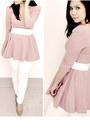 White-skinny-bershka-jeans-light-pink-pink-nude-matalan-pumps
