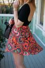 Shoemint-boots-lush-jacket-brandy-melville-bag-forever21-skirt