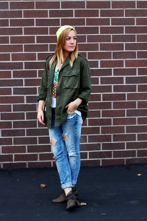 Dolce Vita boots - Zara jeans - Forever 21 hat - brandy melville jacket