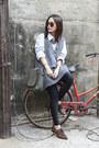 Zara-shoes-american-apparel-leggings-a-f-shirt-mogu-bag-oakfort-vest
