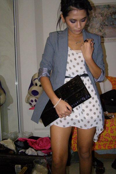 Valley Girl blazer - from japan dress - belt - Equip accessories - DIY accessori