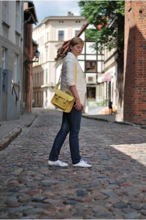 H&M blazer - New Yorker bag