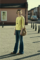 yellow Zara jumper