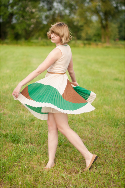 peach Sheinside dress