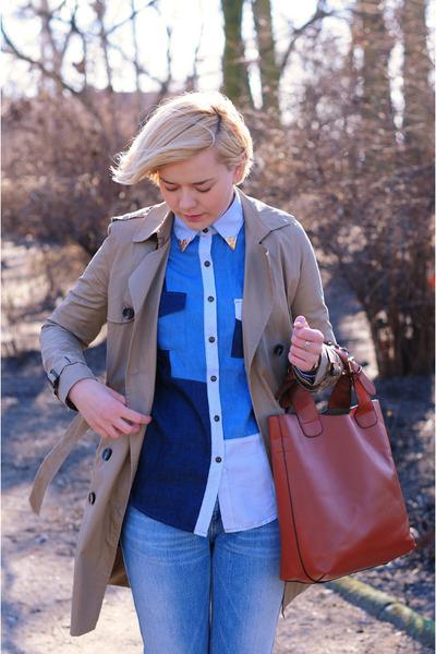 OASAP shirt - pull&bear coat - asos flats