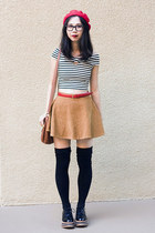 American Apparel socks - Jeffrey Campbell shoes - American Apparel belt
