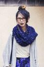 American-apparel-cardigan-dolce-vita-boots-asos-scarf-unknown-bag