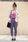 American-apparel-blouse-zara-blazer-unknown-bag-american-apparel-heels