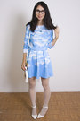 Sky-blue-choies-dress-white-asos-heels
