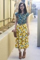 American Apparel skirt - sam edelman boots - Urban Outfitters bag