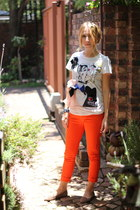 lanvin x hm t-shirt - Juicy Couture jeans - Aldo loafers