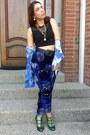 Sheer-urban-outfitters-top-velvet-vintage-pants-kalaka-hungary-heels