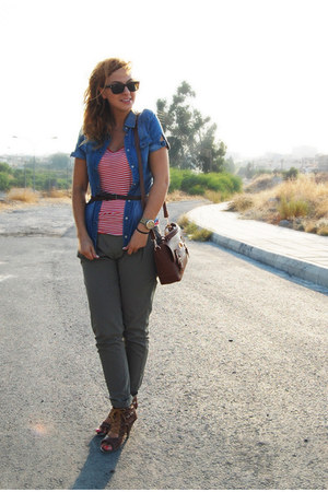dark khaki zar pants
