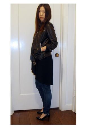 Zara jacket - H&M top - Cheap Monday jeans - payless shoes