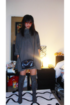 Urban Outfitters jacket - shoes - Givenchy purse