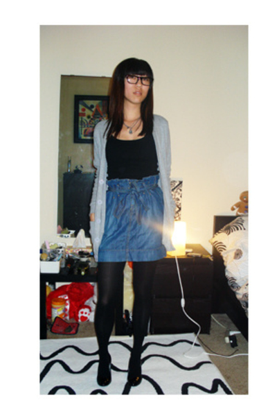 Uniqlo skirt - American Apparel - payless shoes