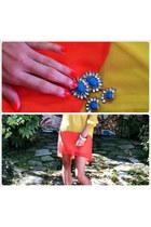 dress - Jeffrey Campbell pumps - H&M earrings