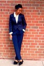 Black-flat-form-free-people-shoes-navy-hm-blazer