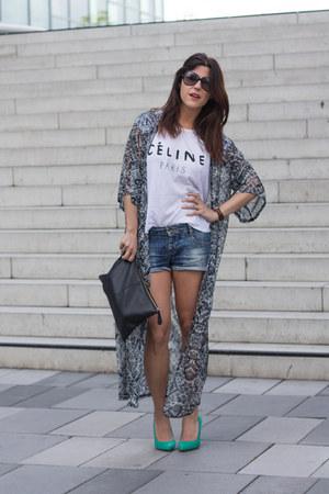 tunic Primark blouse - Primark heels