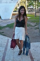 Zara skirt - Lefties sandals